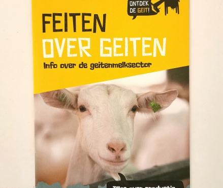 Feiten over geiten brochure