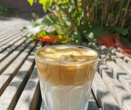 Dalgona ijskoffie